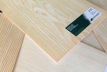 Wood species & veneer samples