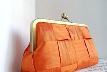 Orange you glad I made this tangerine inspired pinboard? :) / A collection of beautiful orange colored things.. (a color I've grown to love!)