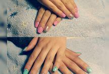 Gel Nails (trabajos)