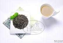 Herbaty zielone / High value green tea from Yunnan province.