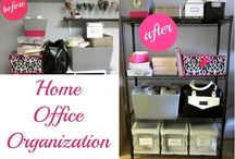 Home Office Organization / by Kendra Hernandez