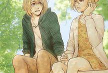 Annie and Armin