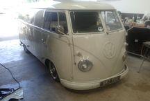 1958 VW Splitscreen Coffee Van