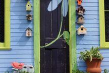 Zahrada, zahradní domky, dekorace