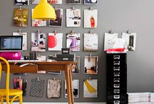Home Office / Office organizing, decorating and styling! / by Fabricworm