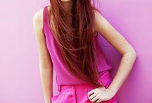 color PINK / by Carol Xavier