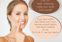 Teeth Whitening / Sometimes a whiter and a brighter smile is all you need to revitalize your teeth and make you feel better about you and the way you look! http://www.wmsmile.com/teeth-whitening/index.html