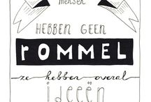 ♡ Handlettering / Handlettering ideas - illustrations and typography
