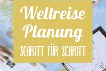 Planung einer Weltreise / Was muss man vor einer Weltreise alles planen?