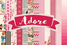Adore Collection / by Authentique Paper