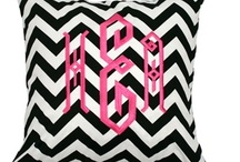 Our Pillows! / New Monogram Pillows at CarolinaClover.com / by Carolina Clover