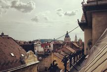 Budapest roofs