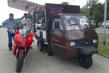 Piaggio Ape Cup&Cakes / Cup & Cakes - Italian coffee served from Piaggio Ape
