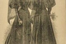 19th century mourning dress