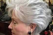 Короткие Стрижки Для Седых Волос