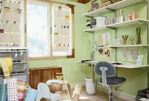 Craft Rooms & Sewing Storage Ideas