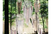 Dreamcatcher / dreamcatcher -  attrape rêve - boho decor - home - hippie chic