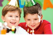 Kid birthdays / Find fun ideas for you child's next birthday - from what birthday party supplies you need to get to fun birthday parties themes.