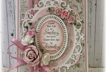 Card ideas - shabby chic