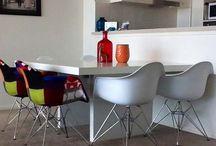 """Silla eames / """"Las ideas son baratas. Sé siempre apasionado en tus ideas y comunica esas ideas y descubrimientos a los demás a través de las cosas que creas."""" Charles Eames (1907-1978)  Arquitecto y Diseñador.  http://dhomeklub.com/4-silla-eames"""