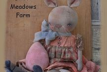 Primitive Dolls Handmade Country