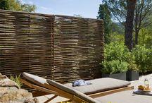 Clôture jardin terrasse
