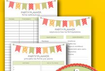 Printables: Party Planner