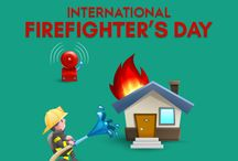 International Firefighter's Day / International Firefighters' Day (IFFD) is observed on May 4. It was instituted after proposal emailed out across the world on January 4, 1999 due to the deaths of five firefighters in tragic circumstances in a wildfire in Australia. May 4 used to be a traditional Firefighters' Day in many European countries, because it is the day of Saint Florian, patron saint of firefighters.