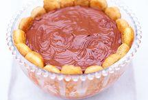 Dessert custard