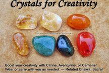 Crystals / Creativity with crystals