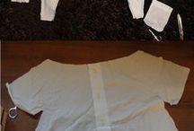 Kinderkleidung aus Herrenhemd