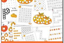 Do-a-dot sheets / by Sarah Stepec