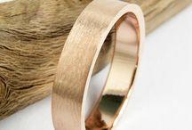 Ringspiration for men / Engagement and wedding rings for men