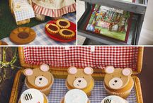 Picnic Birthday / ideas for  4th birthday