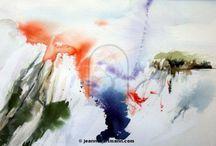 Watercolor / Watercolors by Jeanne Hartmann