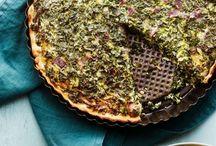 Hartige taarten / Op dit bord vind je de lekkerste recepten voor hartige wintertaarten. Dankzij de rijke vulling zitten ze boordevol voedingsstoffen, wat ze tot echt winters krachtvoer maakt!
