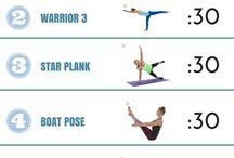 Core strength yoga