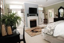 Fireplaces & Mantel Decor / by Lori Hoffman