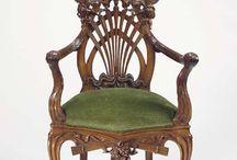 Шедевры мебели резной декор
