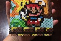 z - pixel art - Mario