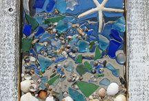 Shell and beach art