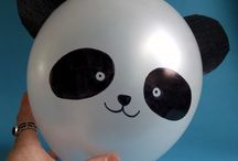 Panda Party ideas / Love panda bears? Panda party ideas, panda decor, panda food, panda printables