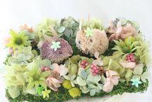 動物/キャラクター Wedding-item:animal & character / 動物やキャラクターを組み込んだウエディングの小物です。リングピローや受付装花に、ウサギやガンダムやカエルやバンビなどなど・・・