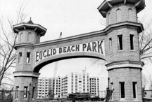 Euclid Beach Park, Cleveland, Ohio / Euclid Beach Park (1895 – September 28, 1969) was a popular amusement park located on the southern shore of Lake Erie in the Collinwood neighborhood of Cleveland, Ohio. / by Sheri Nye