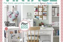 Upcycling Inspiration / 'Make it vintage' with these crafty revamp ideas to add a personal, creative touch to your home.