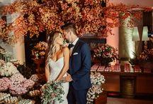 Casais e noivos do Blog Noiva de Evasê - Casamentos / Fotos e imagens inspiradoras dos casais apaixonados que tiveram seus casamentos publicados no blog Noiva de Evasê