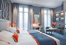"""Rooms / 57 rooms in Louis XV style or more modern and colorful style : """"Privilege"""""""