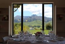 Tablescaping / some gorgeous ways to dress the wedding tables @ The Lookout Lodge in Maungawera Valley, Wanaka, New Zealand