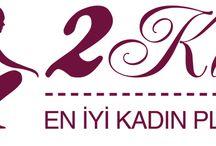 2kadin.com / 2kadin.com Logo