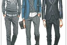 Fashion Illustration Men